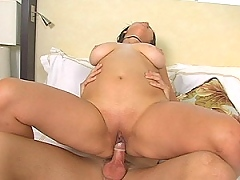 this big tit babe sucks dick like a goddess