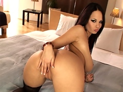 Dominno bent over waiting for your cock