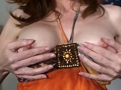 Lorelei strips and talks dirty to you